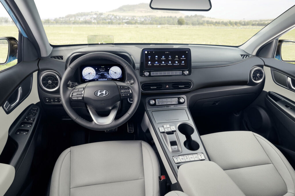 Interieur Hyundai Kona Electric model 2021