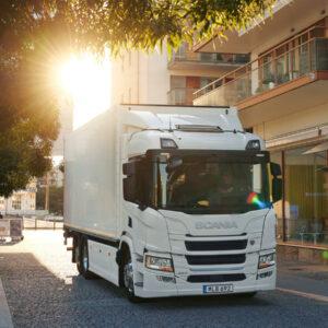 Scania elektrische truck plug-in hybride