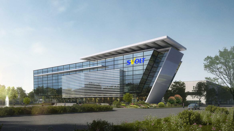 sVolt accufabriek Saarland Duitsland