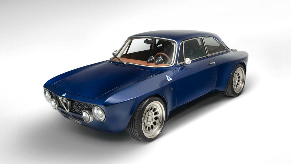 Totem elektrische klassieke Alfa Romeo