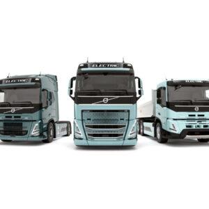 Zware elektrische trucks Volvo