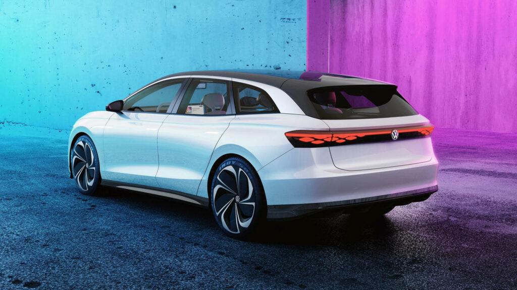Aero B Volkswagen elektrische stationwagen