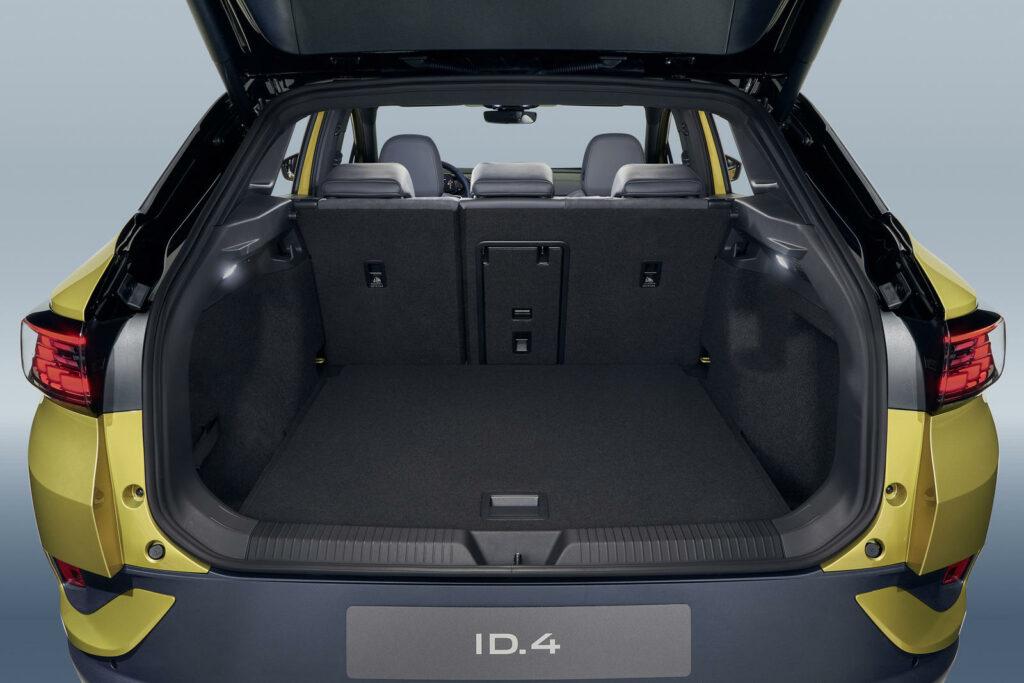 Bagageruimte kofferbak Volkswagen ID.4 1ST