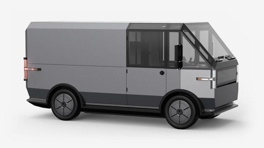 Canoo Van elektrische bestelwagen