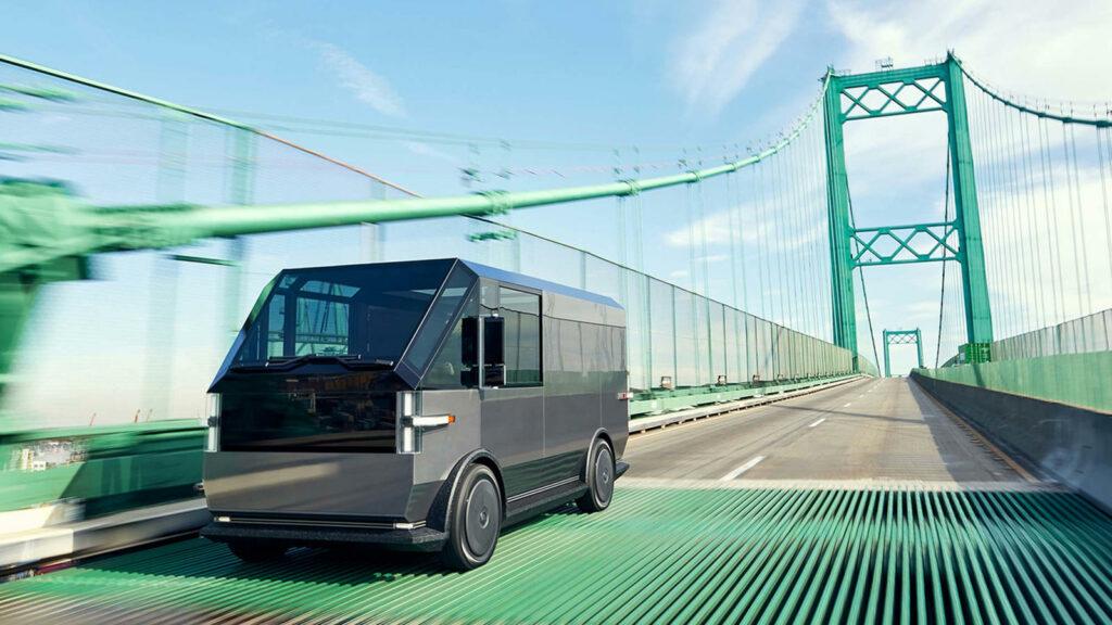 Canoo elektrische bestelwagen