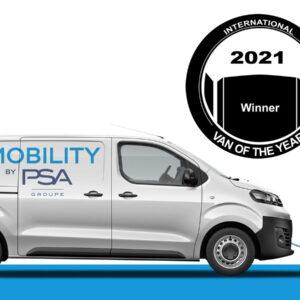 elektrische bestelwagen PSa International Van of the Year