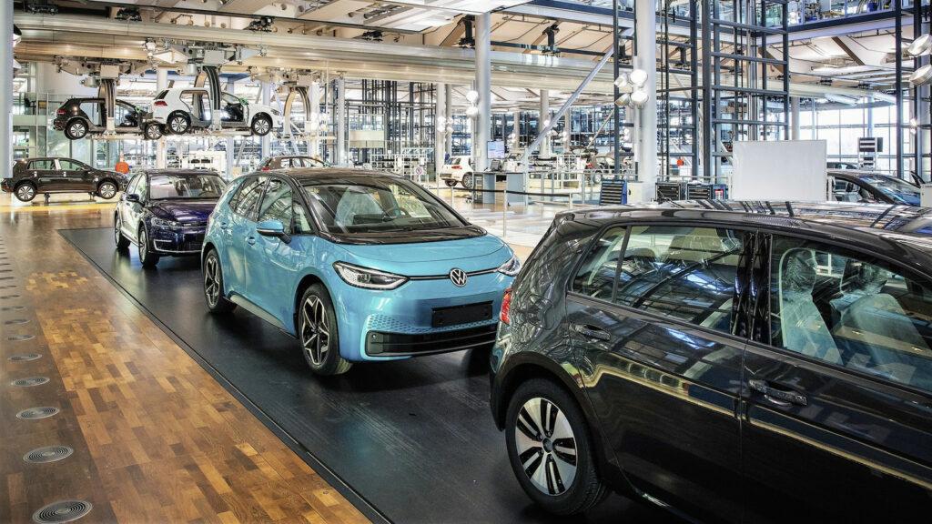 Volkswagen e-Golf stopt, VW ID.3 ook uit Dresden