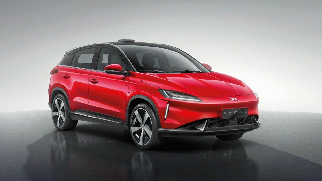 elektrische Xpeng G3 SUV Europese markt