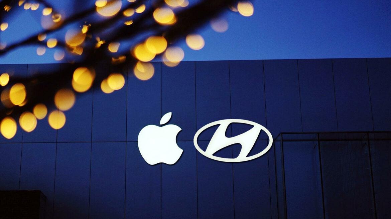 Apple Hyundai elektrische auto