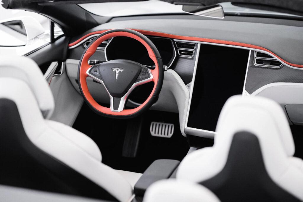 Ares Design Tesla Model S cabriolet