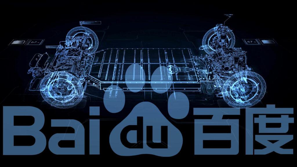 Baidu Geely elektrische auto's