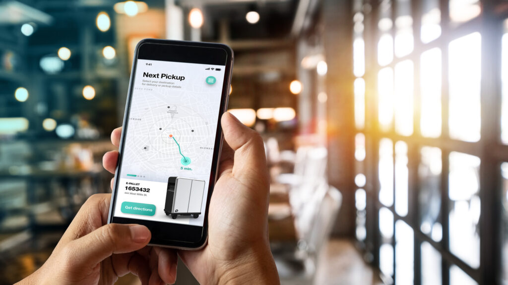 General Motors BrightDrop oplossing app logistiek