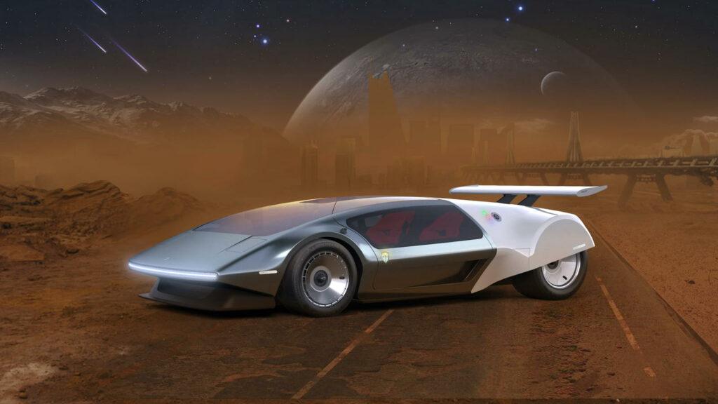 Glickenhaus SCG 009 Concept waterstofauto