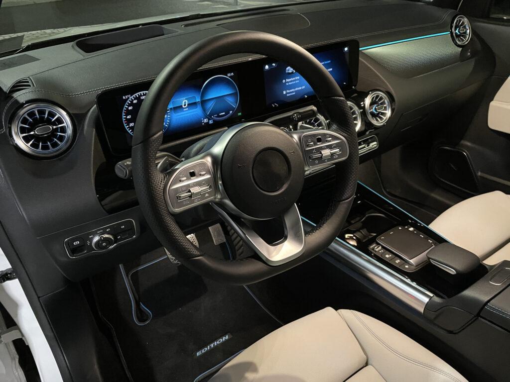 Mercedes EQA interieur