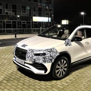 Elektrische Mercedes EQA première