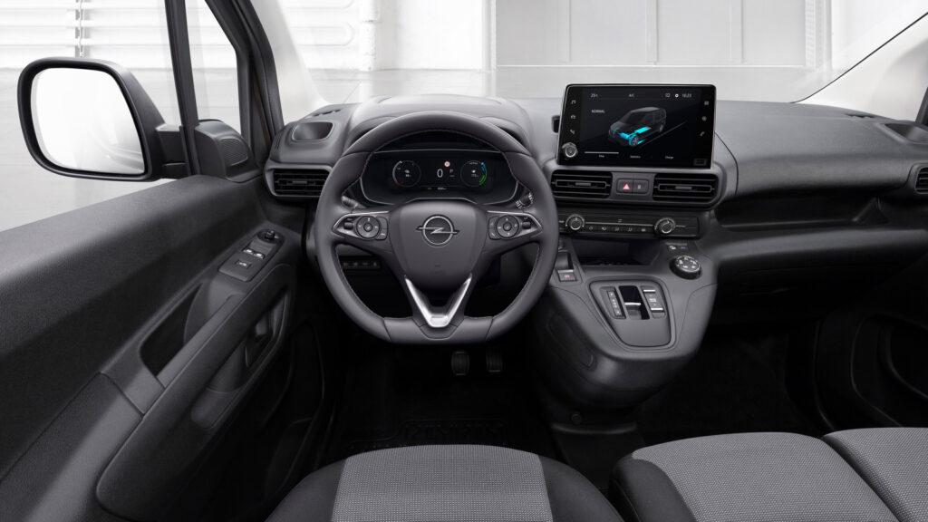 Opel Combo-e elektrische bestelwagen