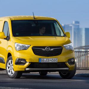 Elektrische Opel Combo-e bestelwagen