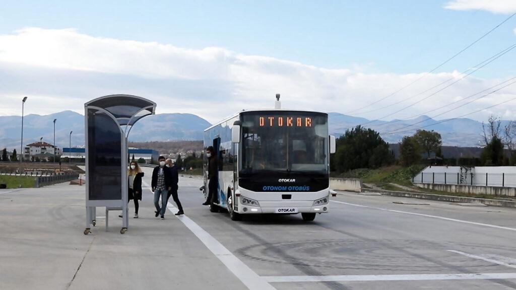 autonome bus Otokar Turkije