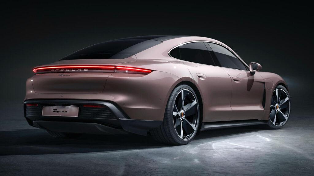 Porsche Taycan goedkoopste basisversie elektrisch
