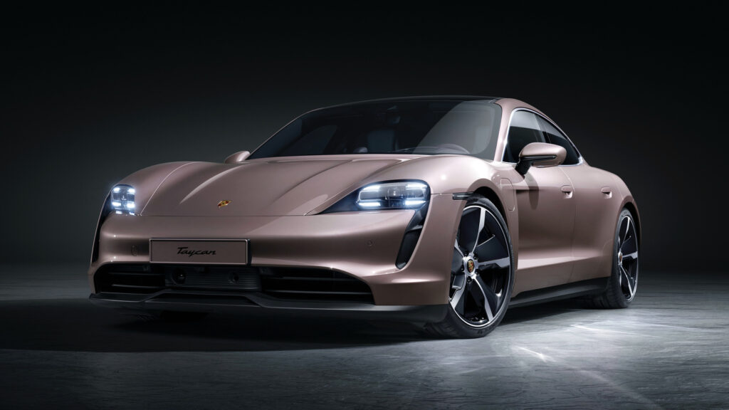 goedkoopste Porsche Taycan basismodel Europa