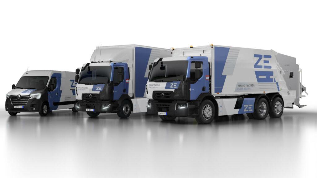 Renault Z.E.-trucks