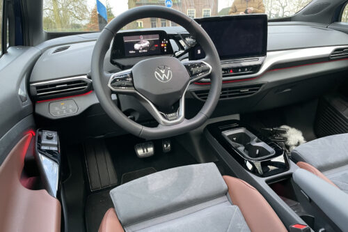 Volkswagen ID.4 interieur dashboard touchscreen
