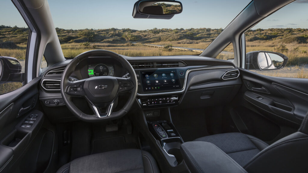 Chevrolet Bolt EV EUV dashboard
