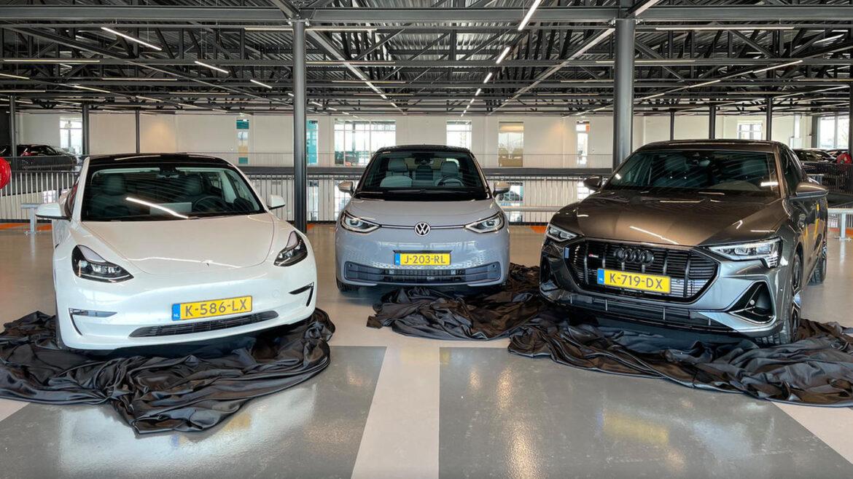 Elektrische Auto van het Jaar 2021