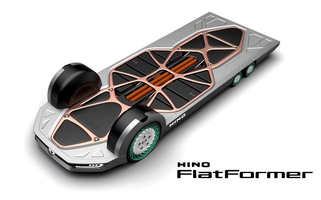 REE platform Hino FlatFormer