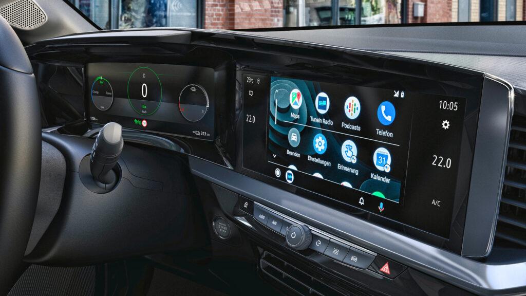 dashboard displays nieuwe elektrische Opel Mokka-e test