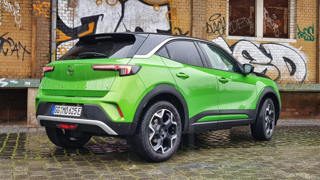 Nieuwe elektrische Opel Mokka-e rijtest test