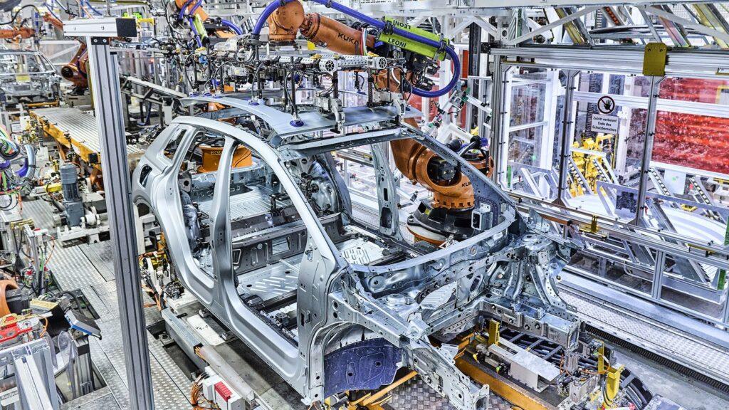 productie Audi Q4 e-tron