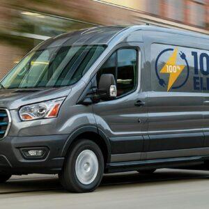 Ford Transit Custom elektrisch