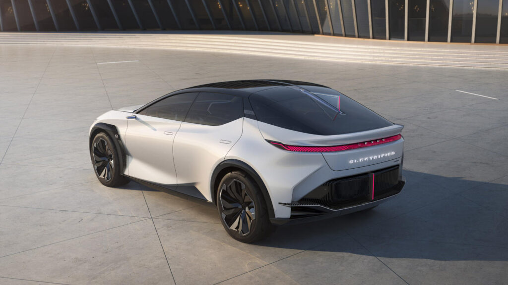 Lexus LF-Z Electrified concept car