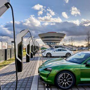 Porsche snellaadnetwerk