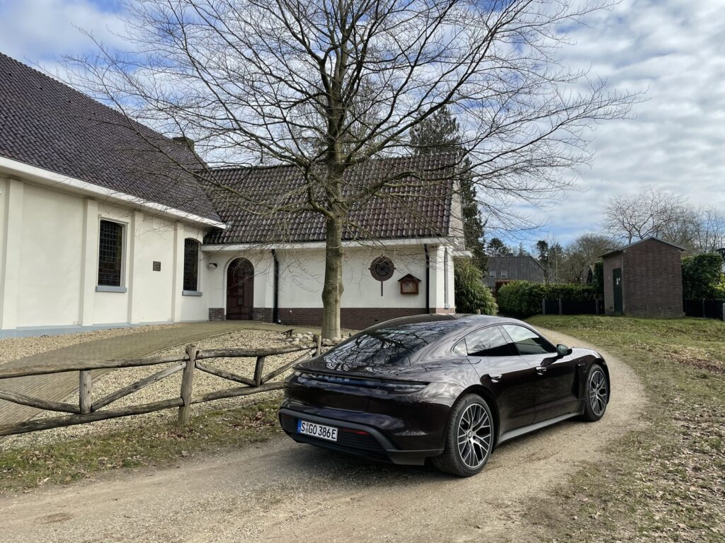 Porsche Taycan basisversie