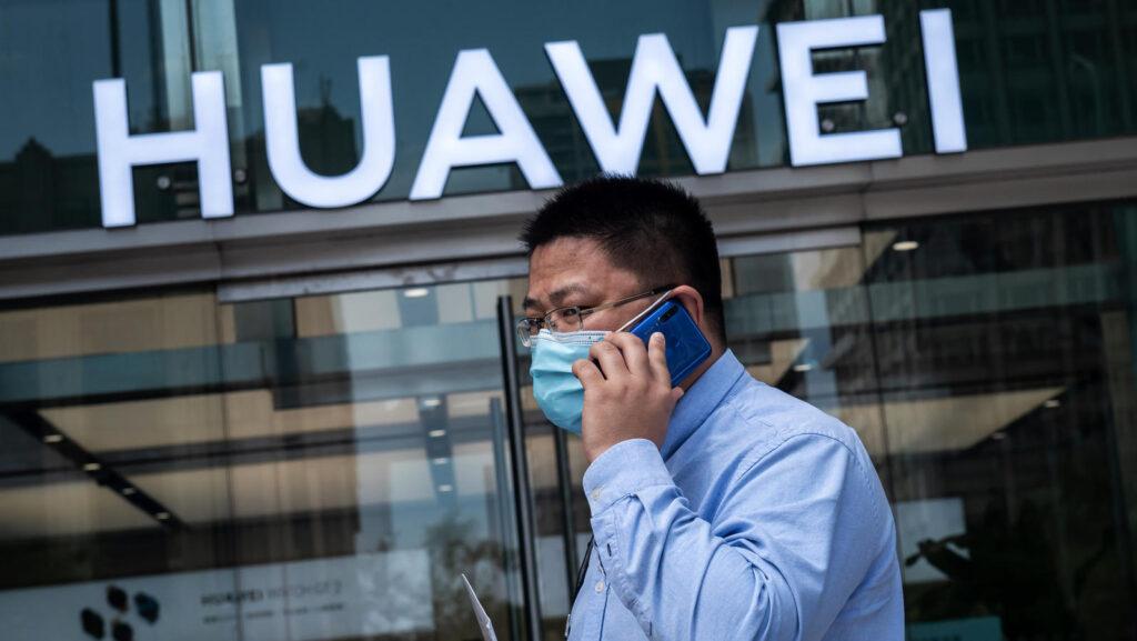 Elektrische auto Huawei