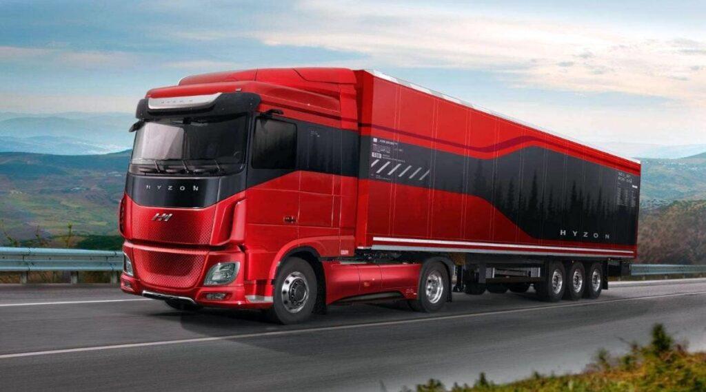 Hyzon Europe brandstofcelvoertuigen Nieuw-Zeeland