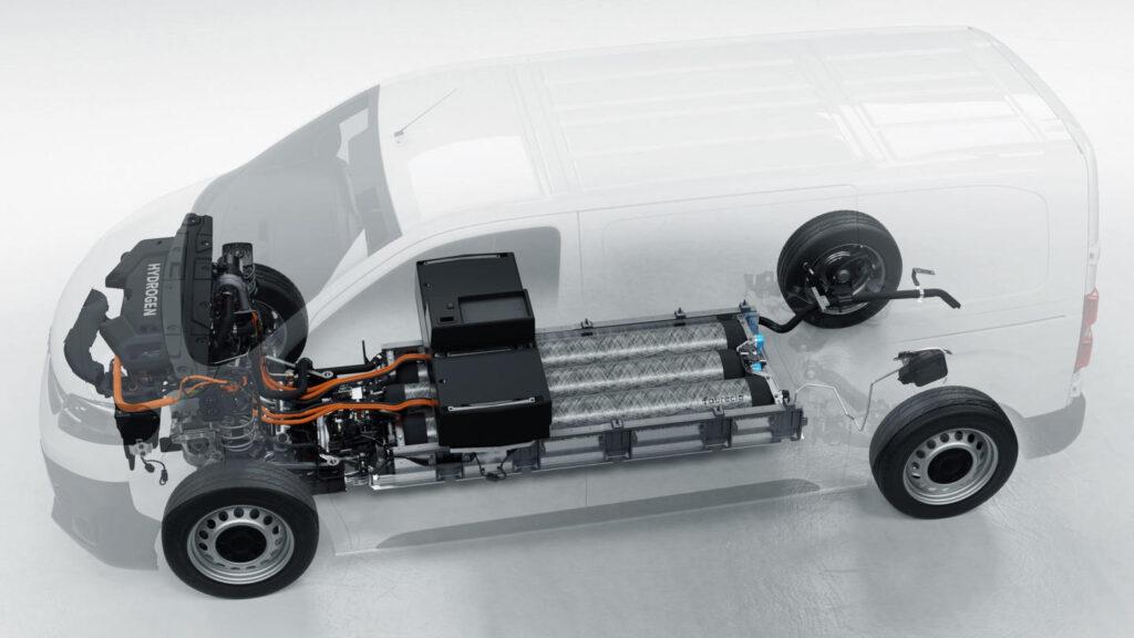 Stellantis brandstofcelaandrijving bestelwagens