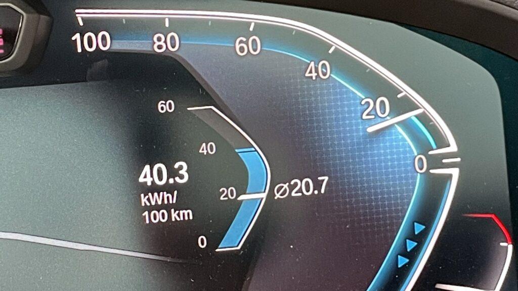 BMW iX3 verbruik