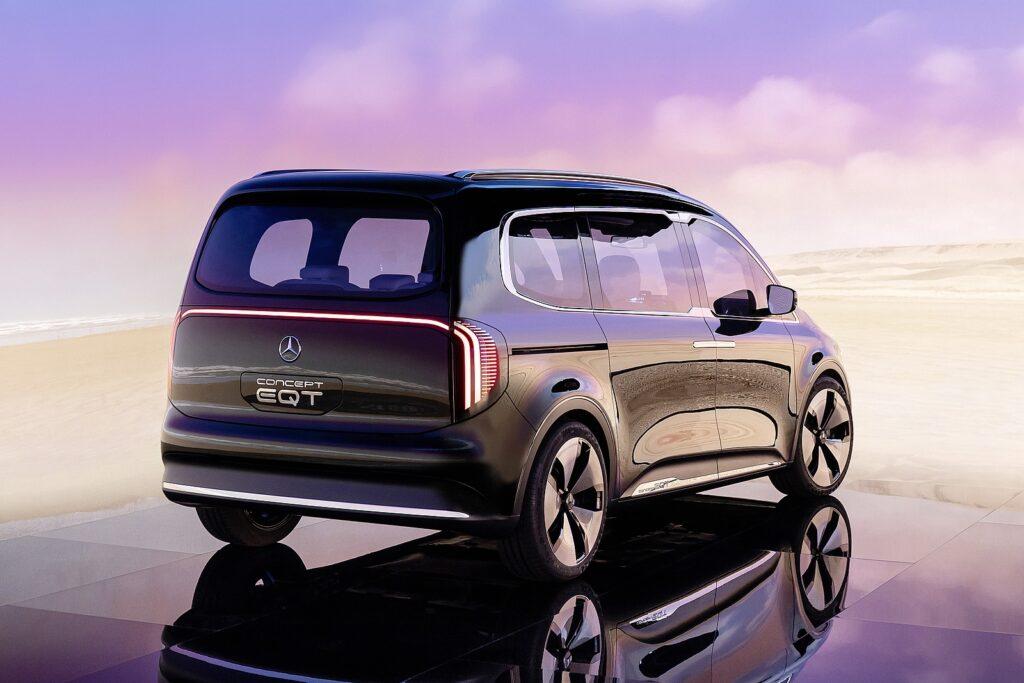 achterzijde Mercedes Concept EQT