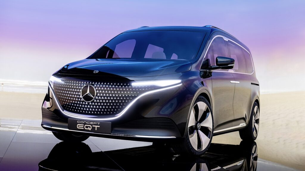 Mercedes Concept EQT voorkant