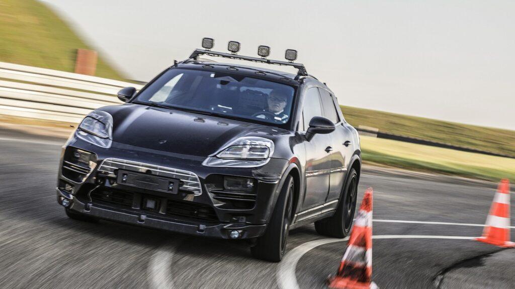 prototype elektrische Porsche Macan