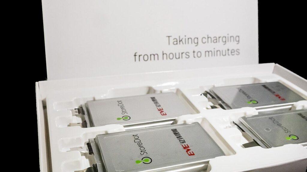 StoreDot EVE Energy accu's vijf minuten opgeladen elektrische auto's