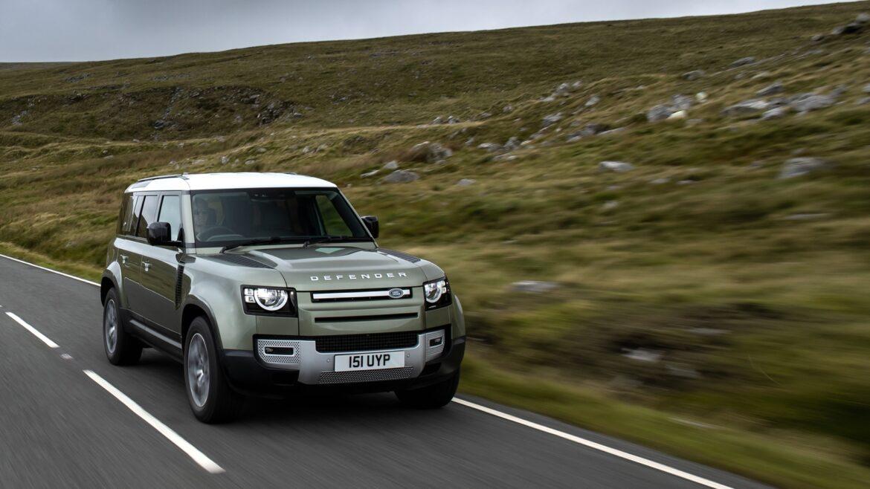 Land Rover Defender brandstofcellen