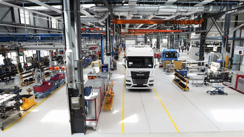 MAN serieproductie elektrische trucks eMobility Center