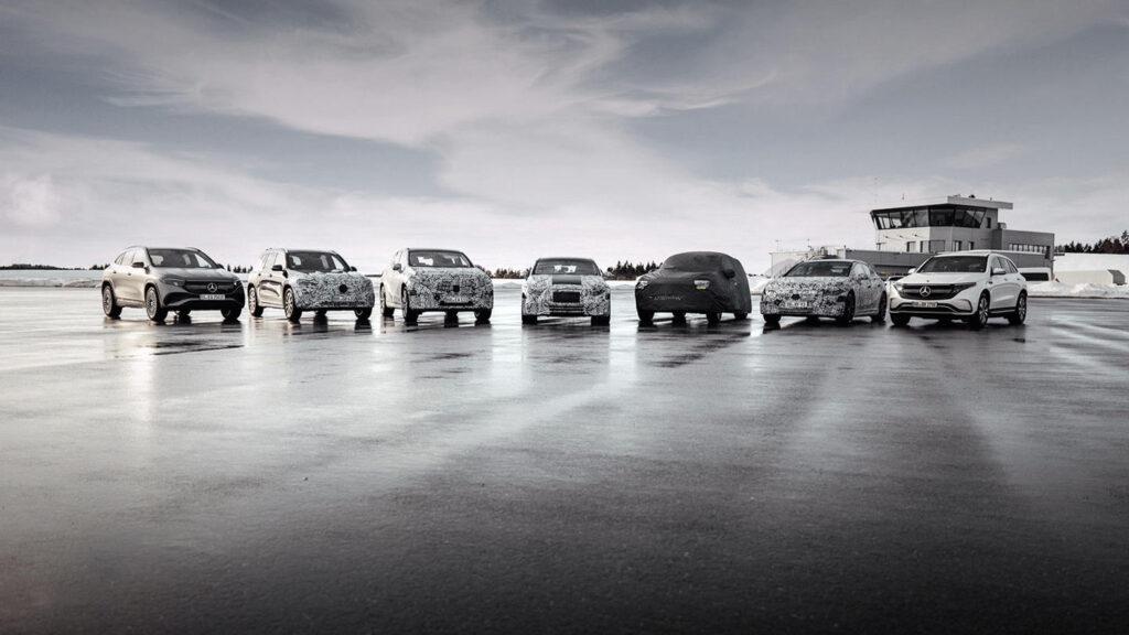 Mercedes EQS EQE AMG