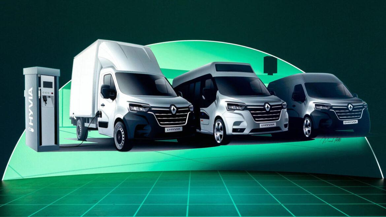 Renault Master brandstofcel