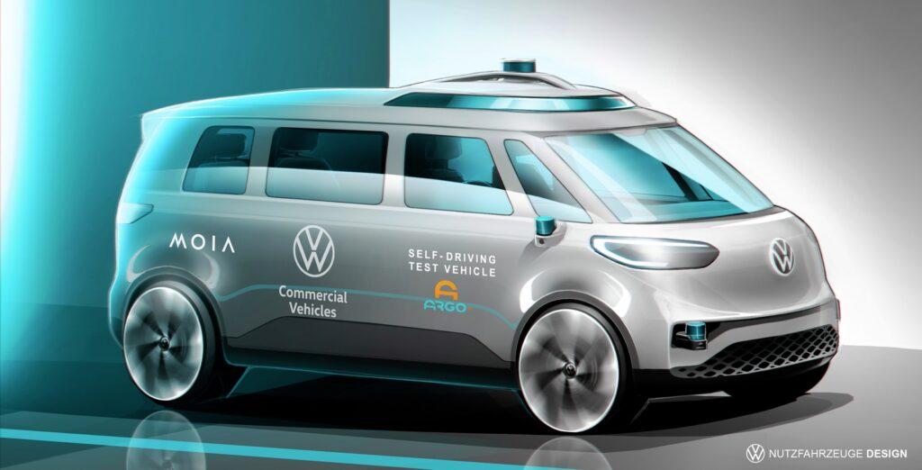 Volkswagen ID.Buzz autonoom