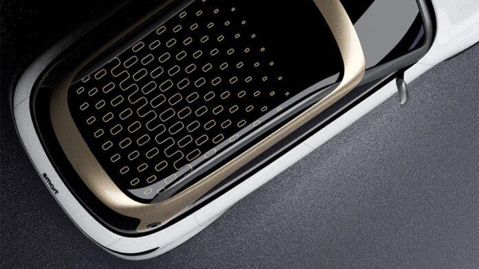 Smart eSUV elektrisch teaser foto